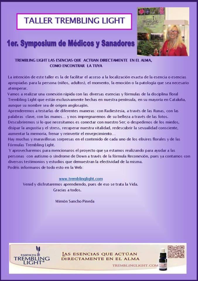 1er. Symposium de Médicos y Sanadores