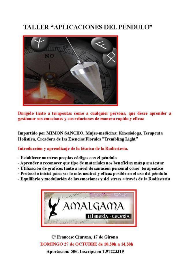 """TALLER de """"APLICACIONES DEL PENDULO"""""""
